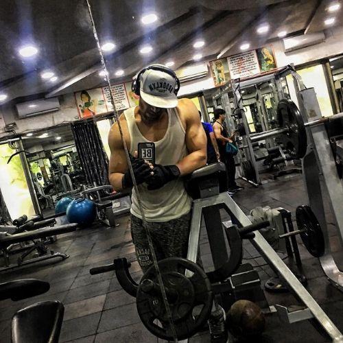 Vikas Verma in Gym
