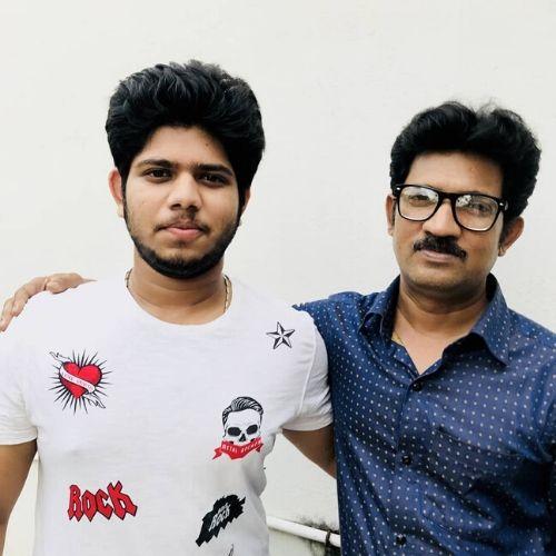 Adriz's Father Subhasish Ghosh