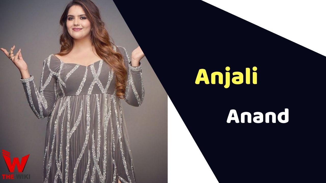 Anjali Anand (Actress)