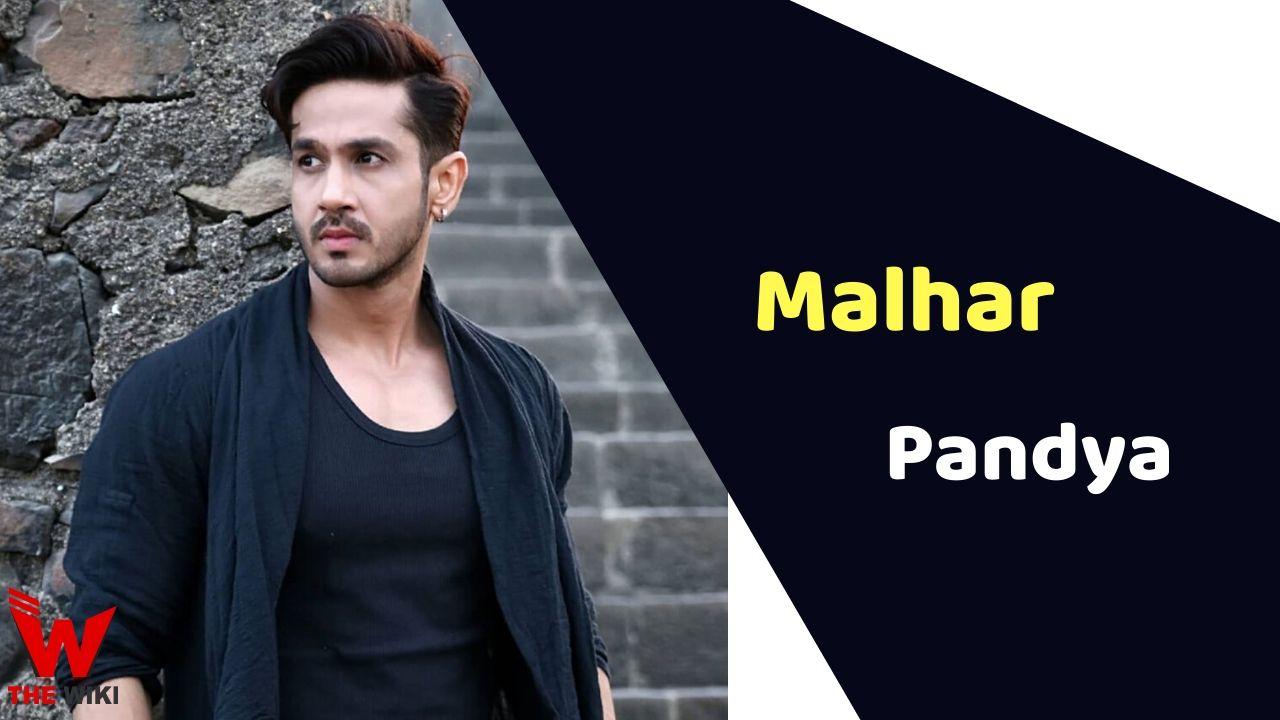 Malhar Pandya (Actor)