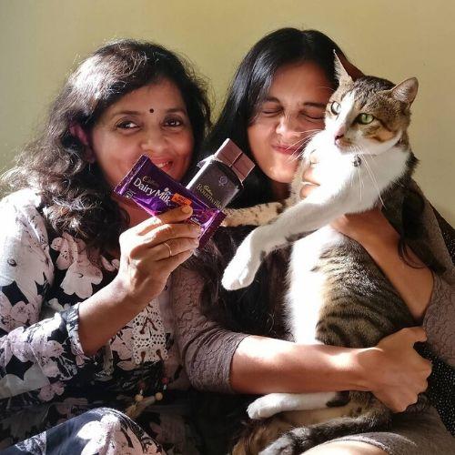 Megha loves cats