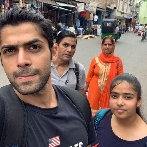 Mohit Kumar Family