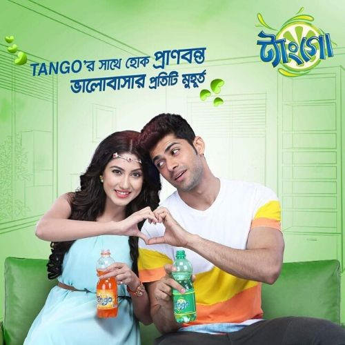 Mohit Kumar in advertisement
