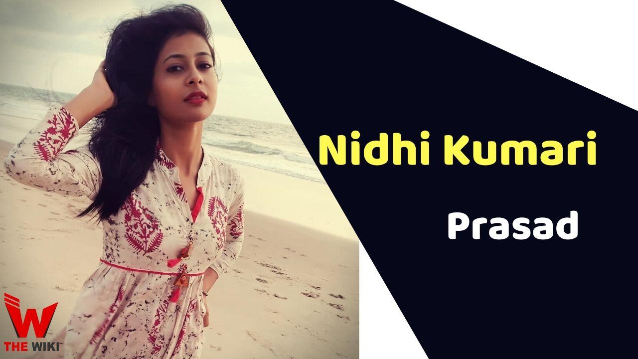 Nidhi Kumari Prasad (Singer)