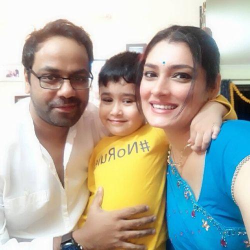 Preeti Puri Choudhary Family
