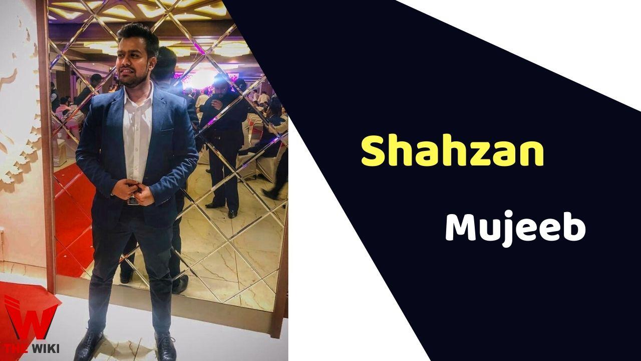 Shahzan Mujeeb (Singer)