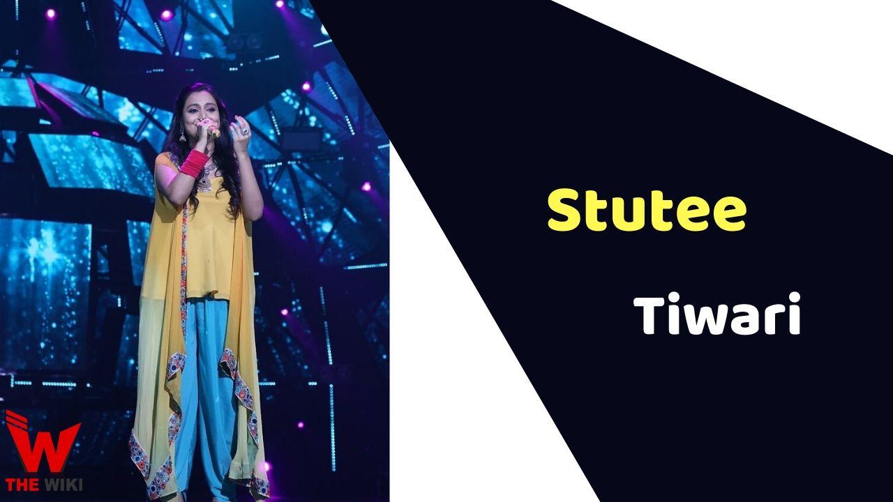 Stutee Tiwari (Indian Idol 11)