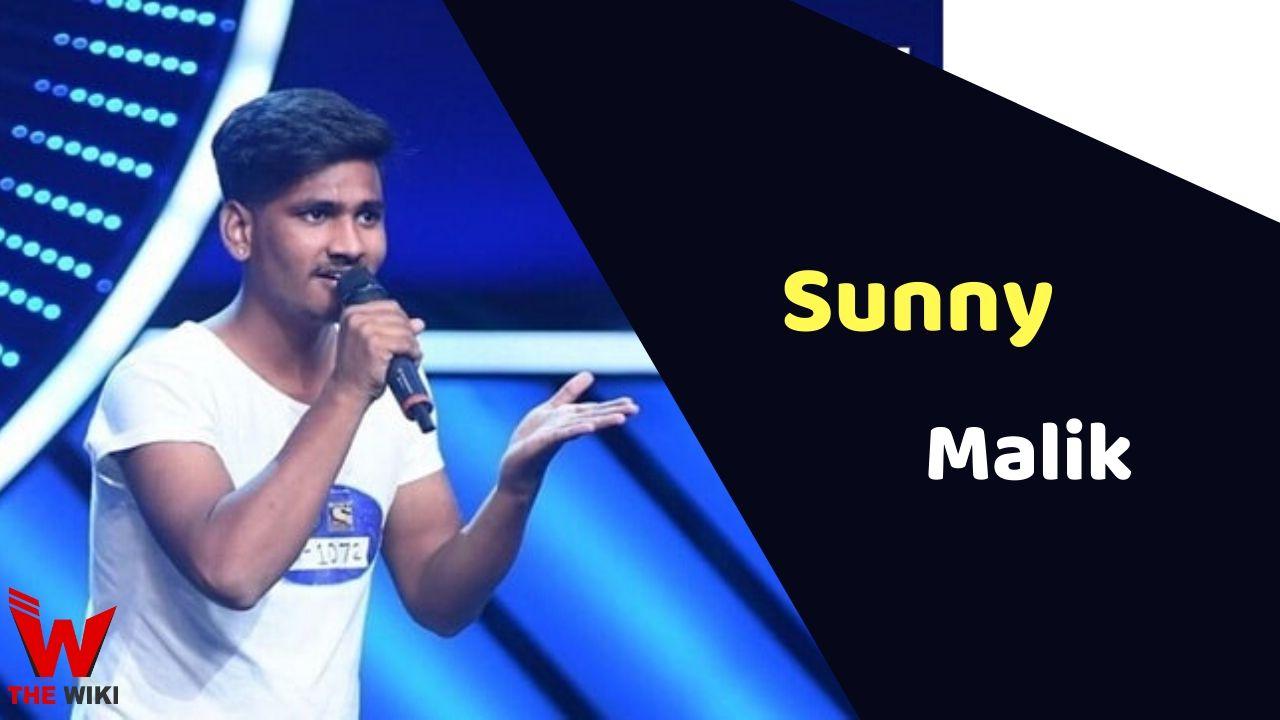 Sunny Malik (Singer)