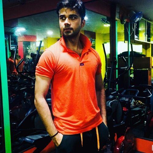 Avinash Mukherjee in Gym