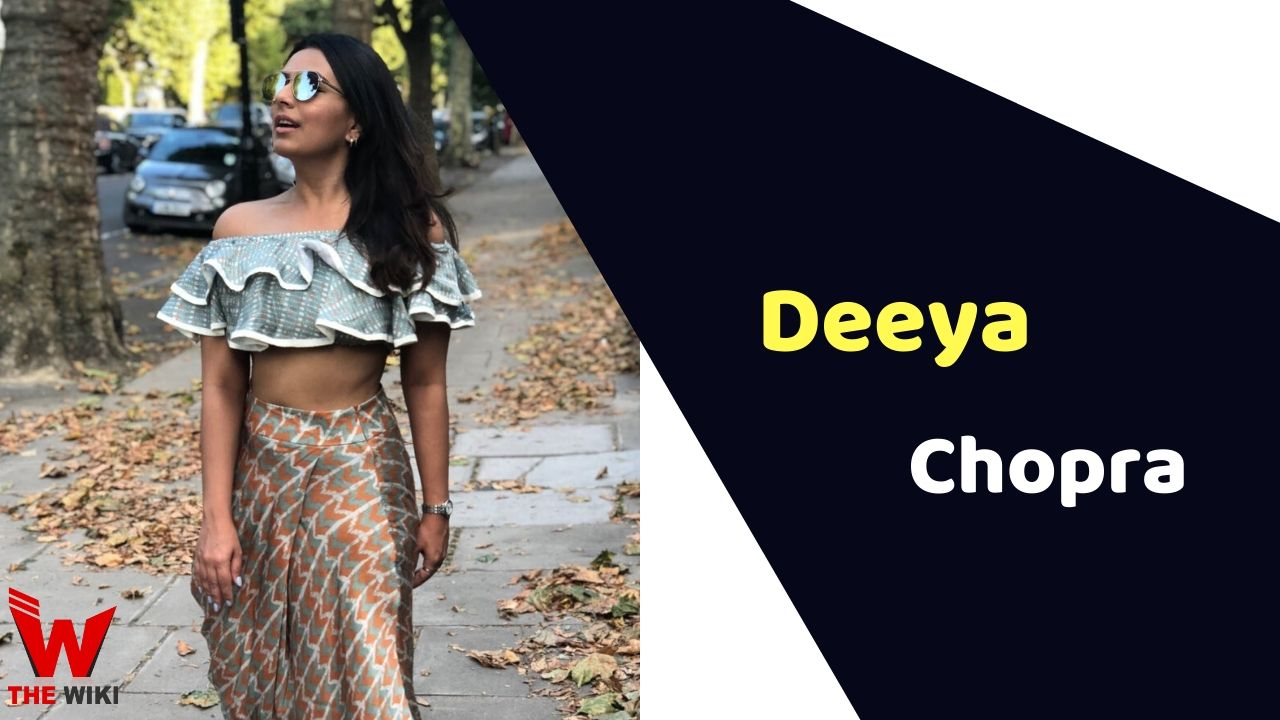 Deeya Chopra (Actress)