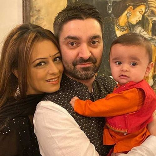 Deeya Chopra's Husband and Son