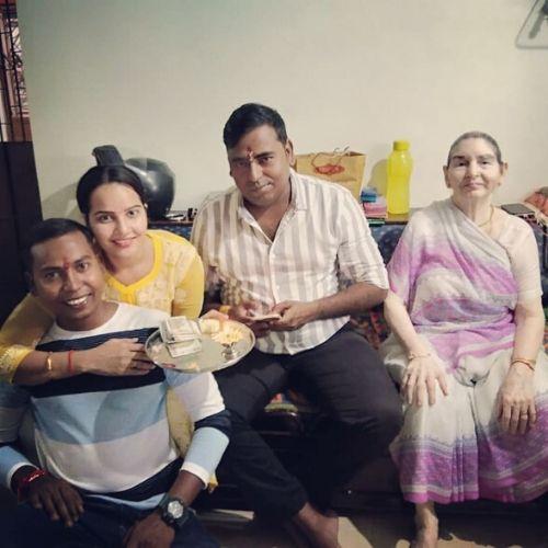 Geetanjali Mishra Family