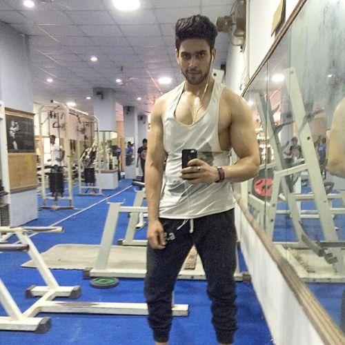 Jatin in Gym