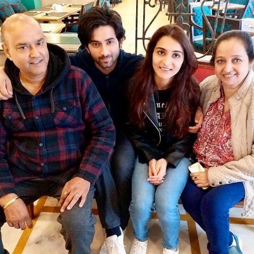 Mudit Nayar family
