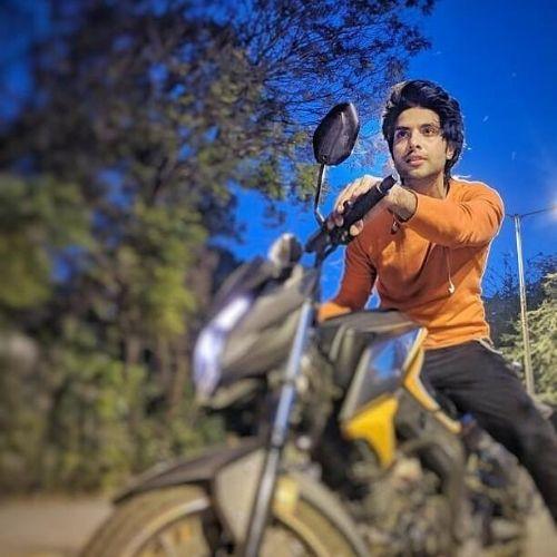 Parichay with bike