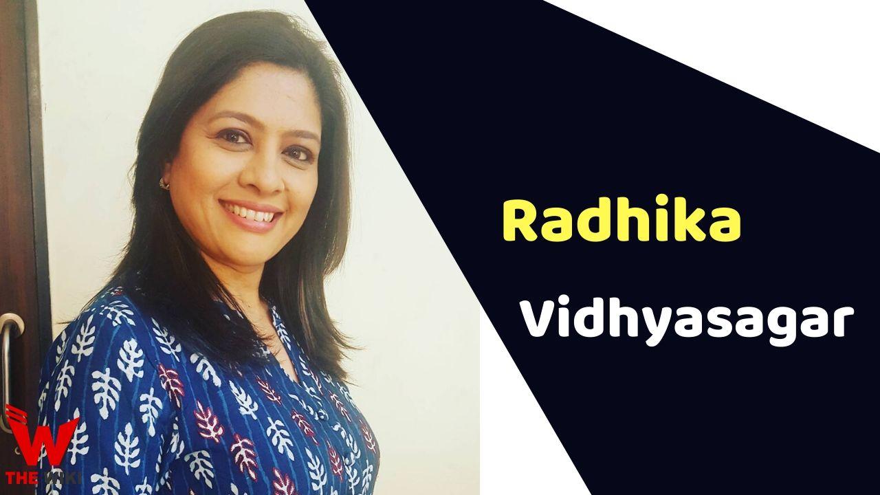 Radhika Vidhyasagar (Actress)