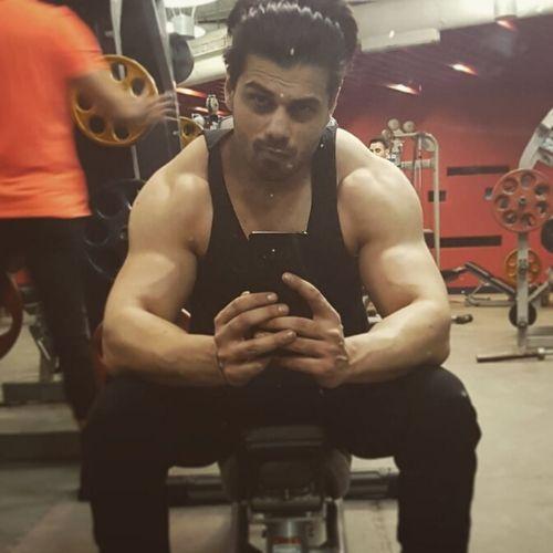 Siddharth in Gym