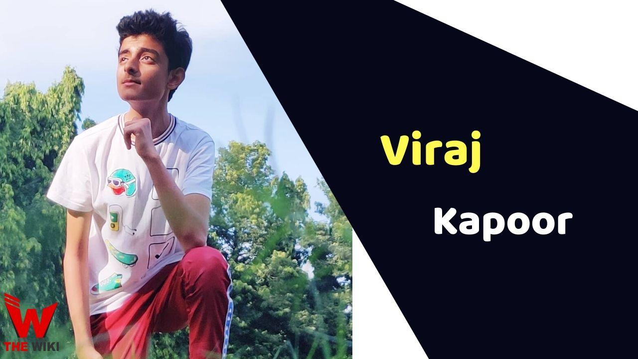 Viraj Kapoor (Child Actor)