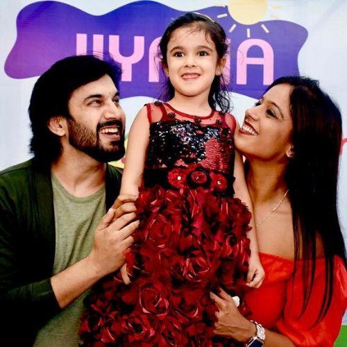 Ajay Chaudhary Family
