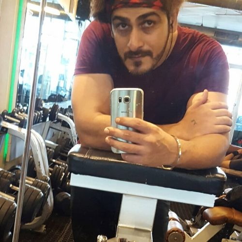 Ankit Arora in Gym