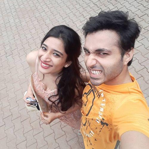 Ankit Narang With wife