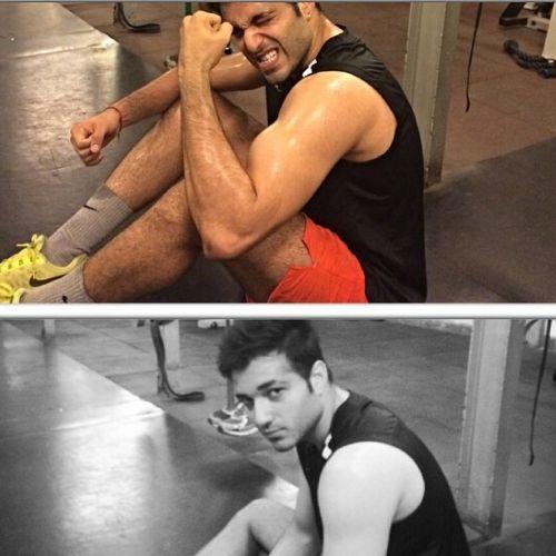Ankit Narang in Gym