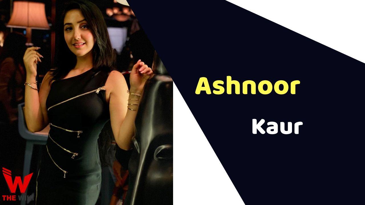 Ashnoor Kaur (Child Artist)