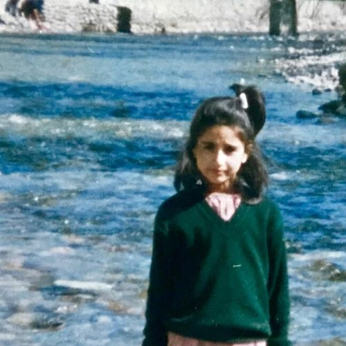 Khalida Jan Childhood image
