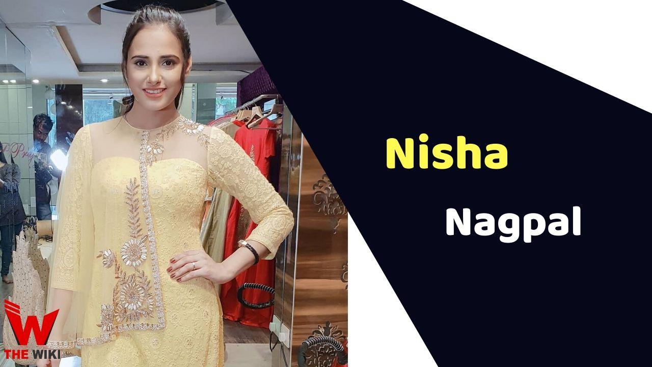 Nisha Nagpal (Actress)
