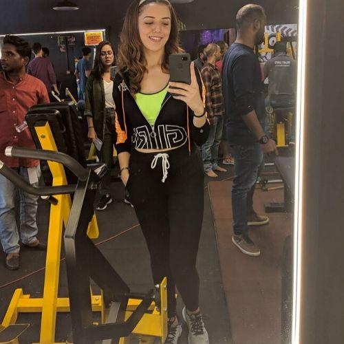 Priya Chauhan in Gym