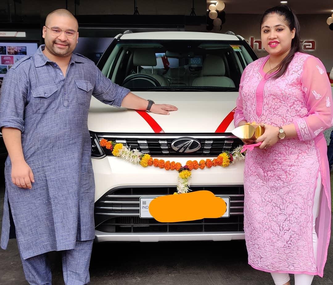 Raashul Tandon with his car