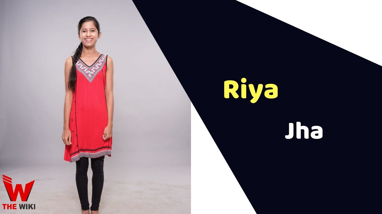 Riya Jha (Child Artist)