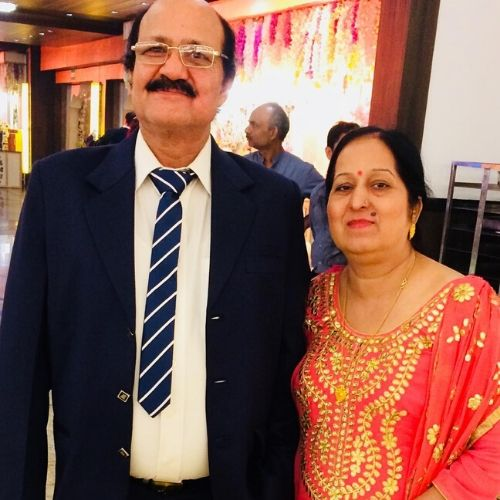 Sagar Wahi Parents