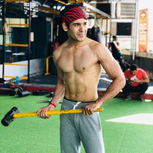 Sagar Wahi in Gym