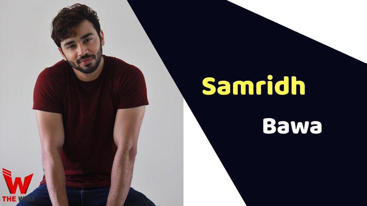 Samridh Bawa (Actor)