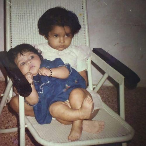 Samvedna Suwalka Childhood picture