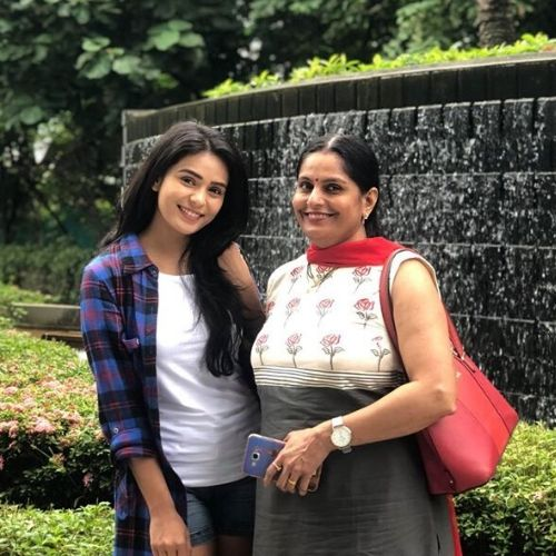 Sonal Vengurlekar with mother