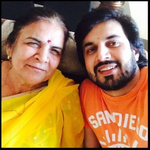 Ajay Chaudhary's Mother