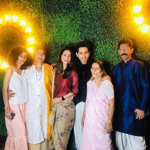 Aneri Vajani Family