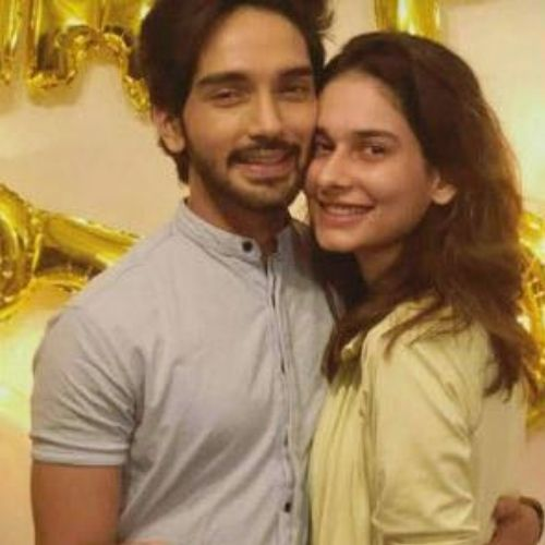 Harsh Rajput and Aneri Vajani