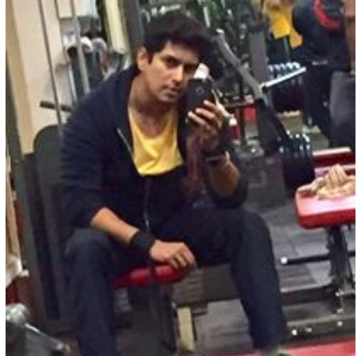 Khushwant Walia in Gym