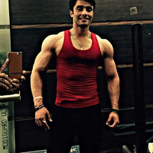 Muohit Joushi in Gym