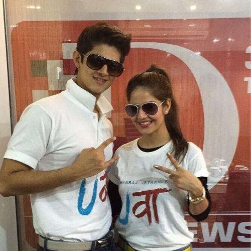 Parree Pande with Rohan Mehra