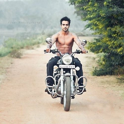 Rohit Choudhary Loves Bike