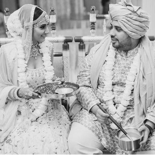 Additi Gupta with Husband