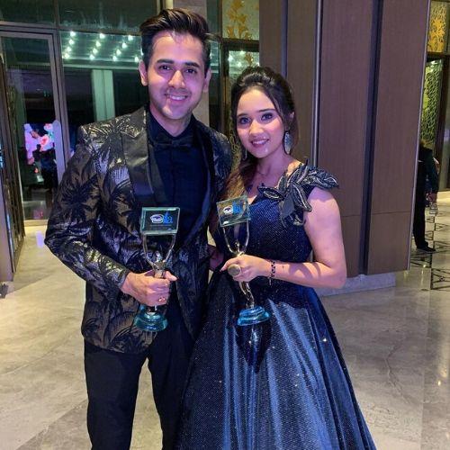 Ashi Singh & Randeep Rai Best Jodi Award at ITA 2019 for Yeh Un Dinon Ki Baat Hai