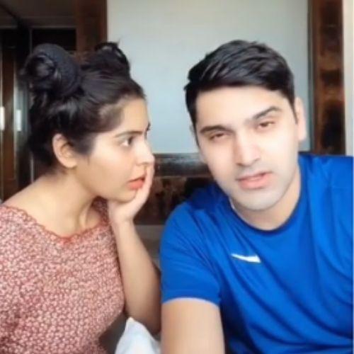 Karan Dandir and Yukti Kapoor
