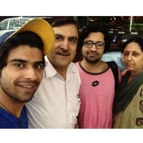 Nikhil Mehta Family