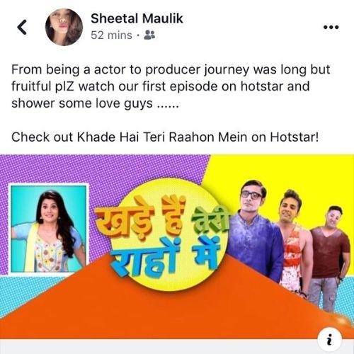 Sheetal Maulik as Producer