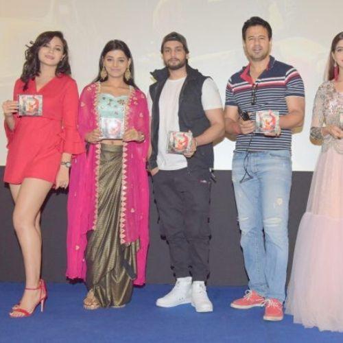 Kaveri Priyam during film promotion
